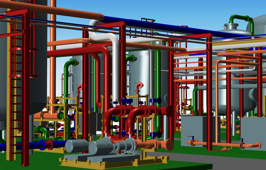 3d piping design software mpds4 industrial plant layout software with 3d piping mpds4 ccuart Choice Image