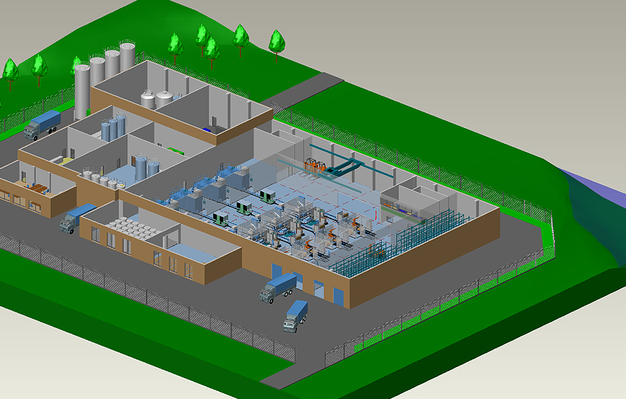 Software for 3d factory design and 2d layout mpds4 mpds4 factory design software malvernweather Image collections