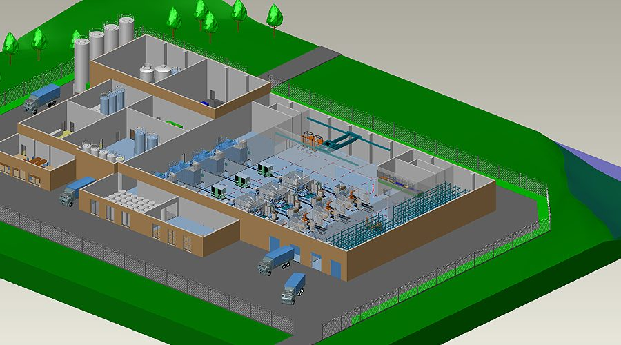 Fabrikplanung-Software-Fabrikplanungssoftware-MPDS4-01-Gebaude-Gelaende
