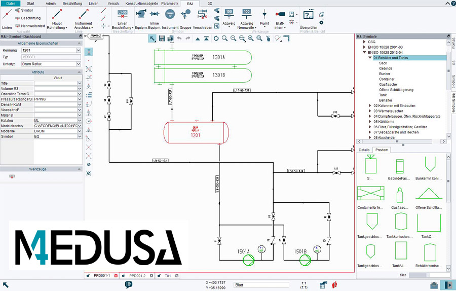 Awesome Pid Software Module For 2D Cad Medusa4 Pid Wiring 101 Xrenketaxxcnl