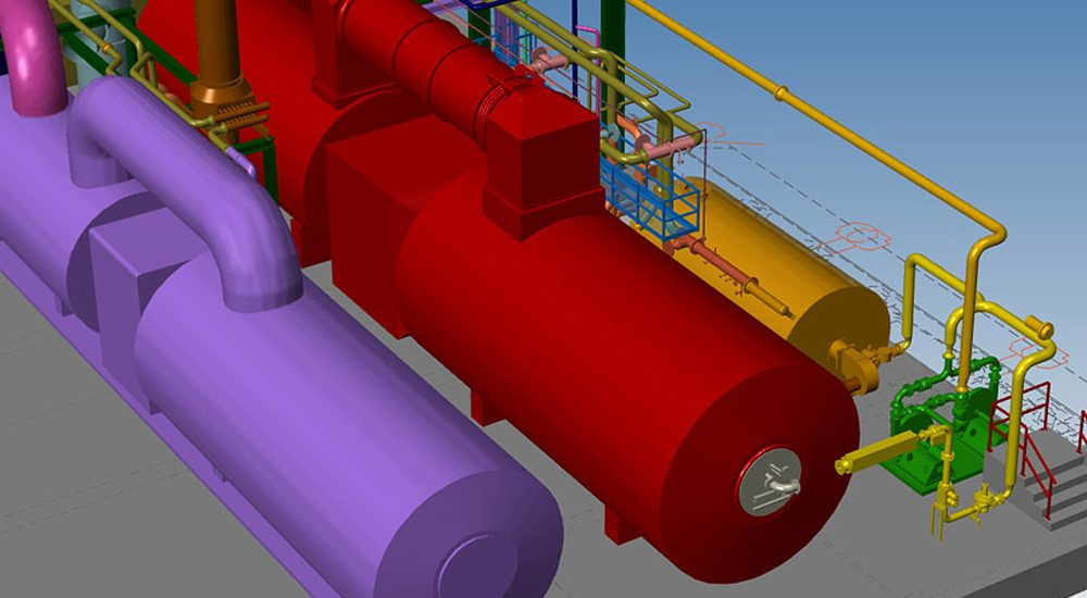 Industrial Plant Layout Software with 3D Piping
