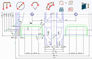 dimensioning annotations and tables in medusa4 rh cad schroer com ISO Drafting Standards Book ISO Drafting Standards PDF