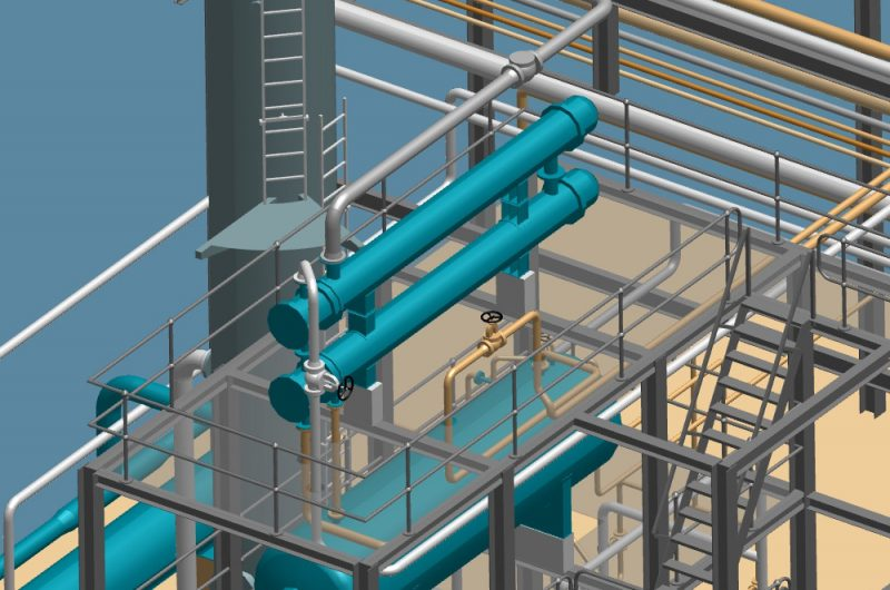 P&ID's, 3D pipework design, and piping isometrics in one package