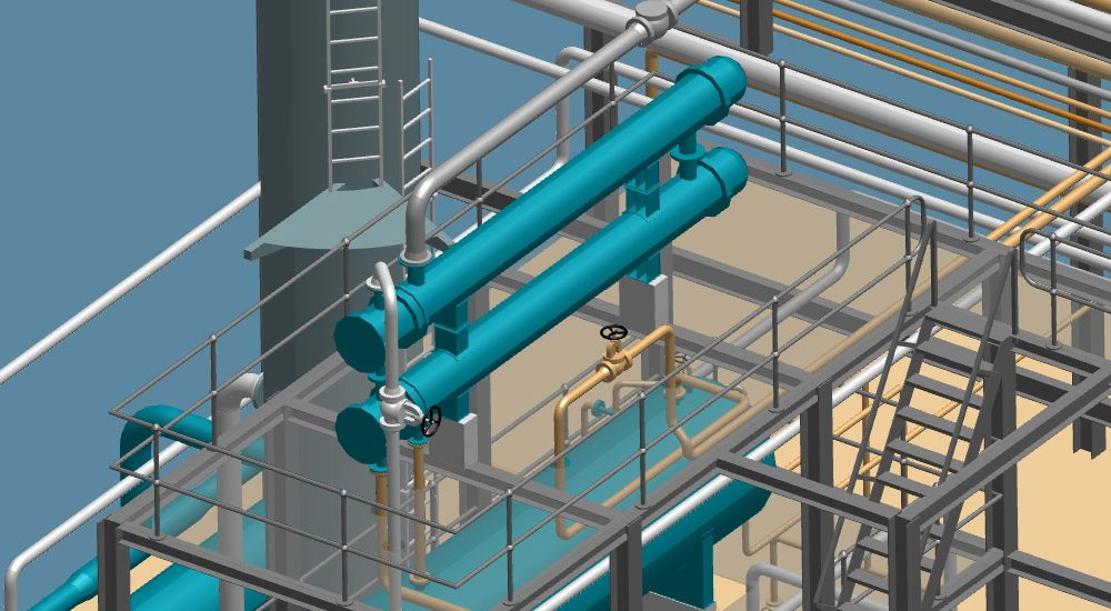 P&ID, Rohrleitungsbau und Isometrien in einer Software