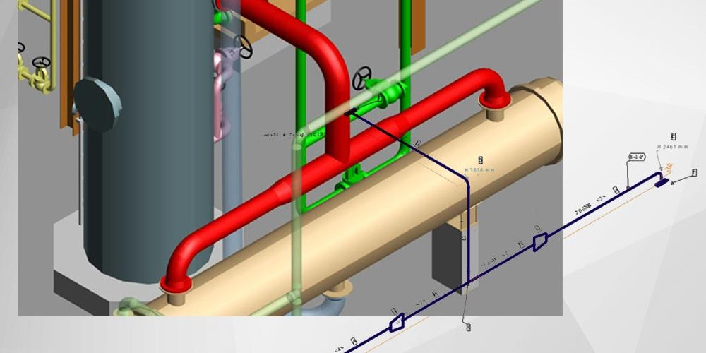 Automatic generation of piping isometrics
