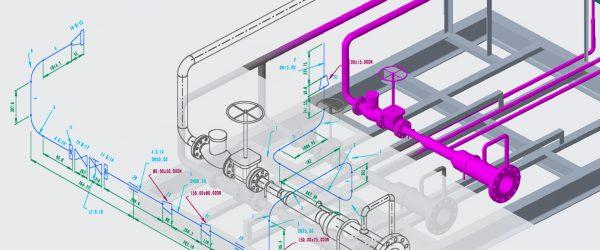 Isometrie für PTC Creo Piping - M4 ISO