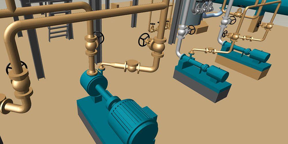 Rohrleitungsbau Software Planung von Rohrleitungen
