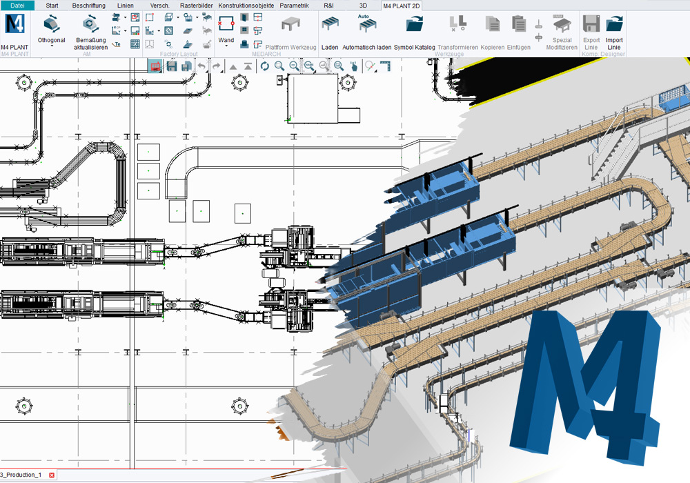 M4 DRAFTING: 2D for high-performance handling