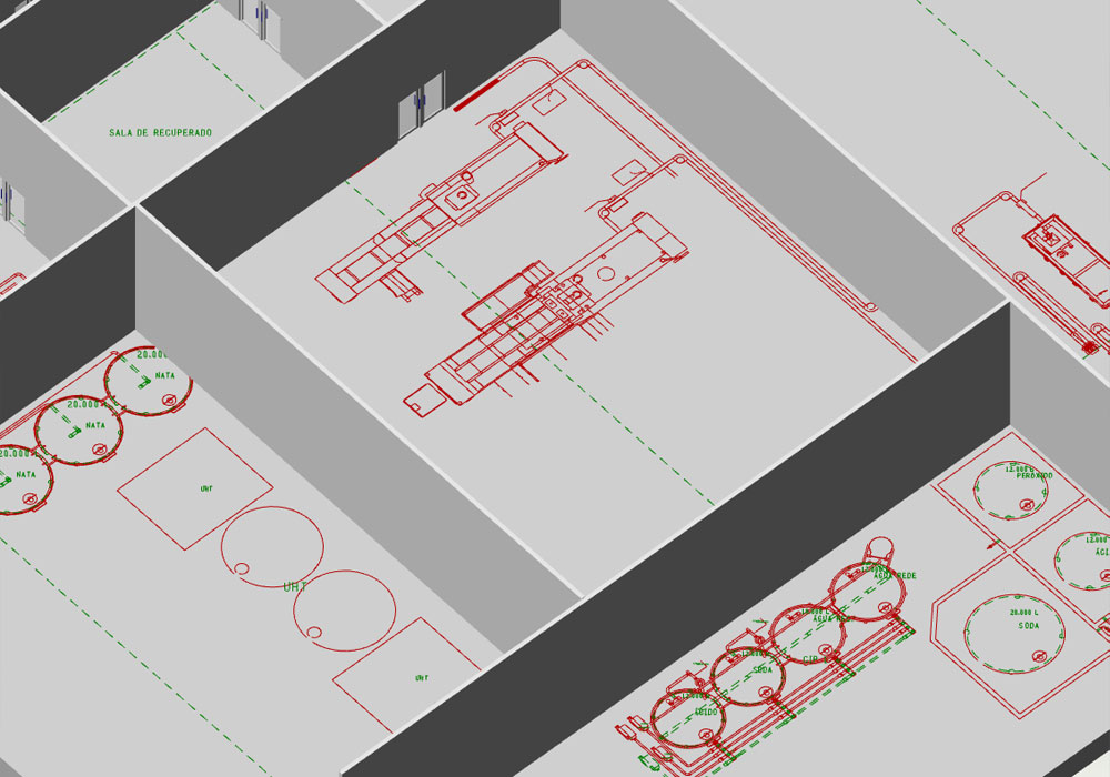 The path to a virtual factory starts with a 2D layout and continues with 3D planning