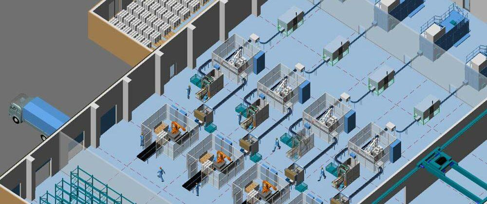 Factory design Mistake #1: Not using 3D design