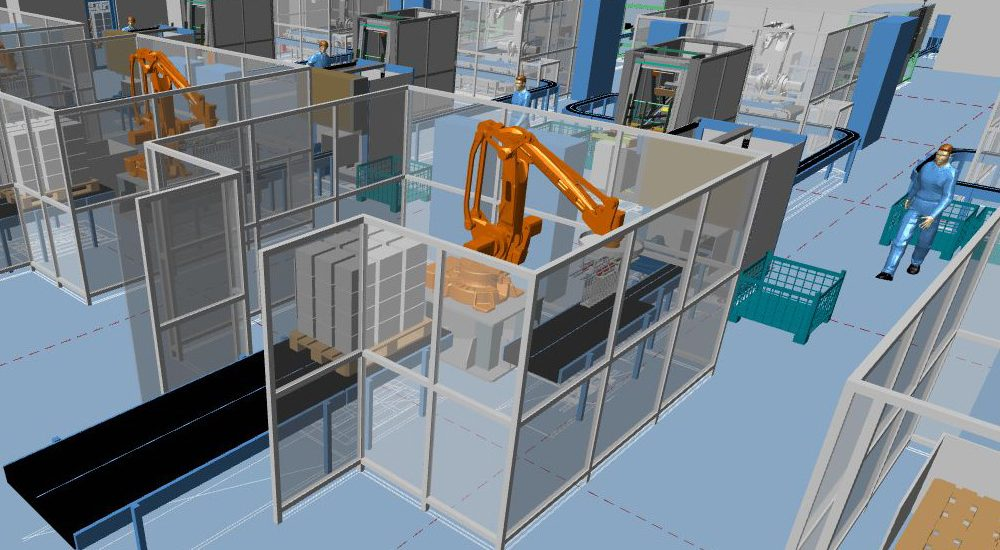 Industrial Plant Design and Factory Layout Software - MPDS4