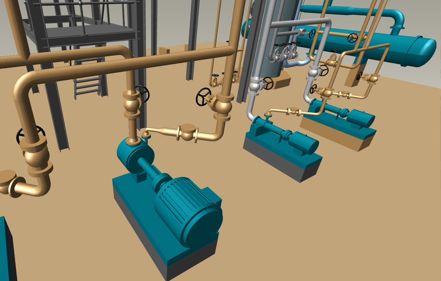 3d Piping Design Software M4 Plant