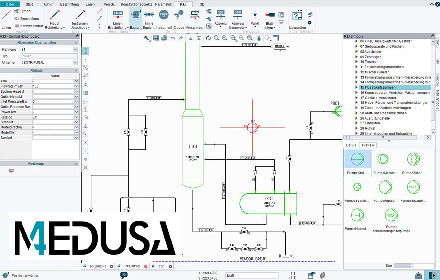P Id Software For 3d Plant Design P Id M4 Plant