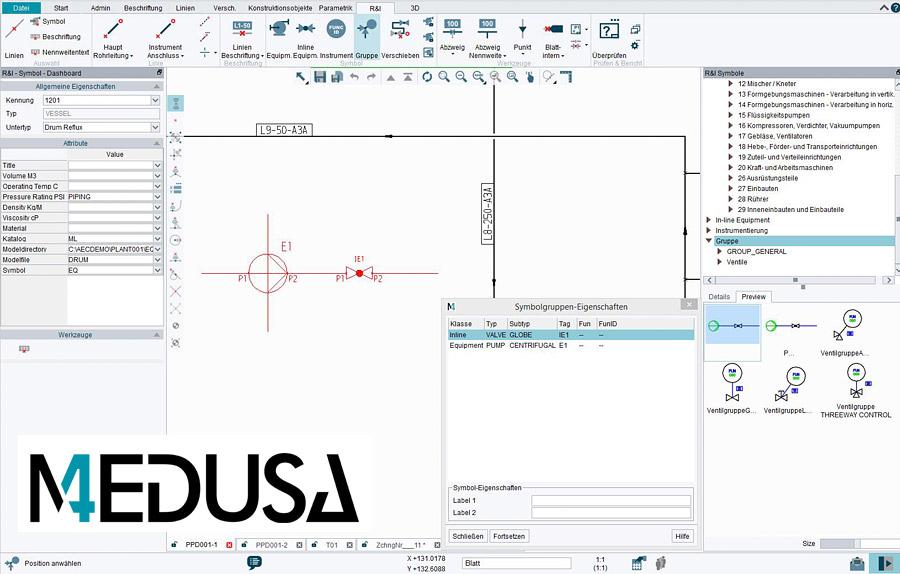Medusa Plant Design System
