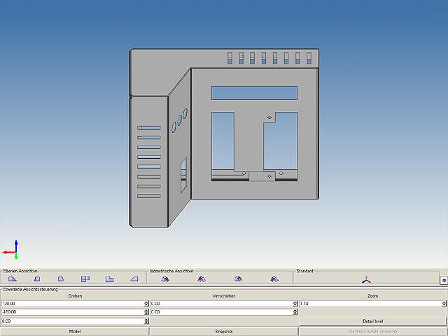 2D/3D Sheet Metal Design – MEDUSA4 SMD
