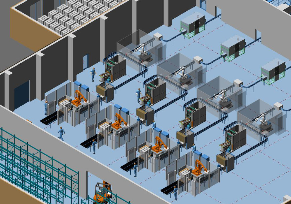 Three easy steps to get started with 3d factory design for 3d store layout design software