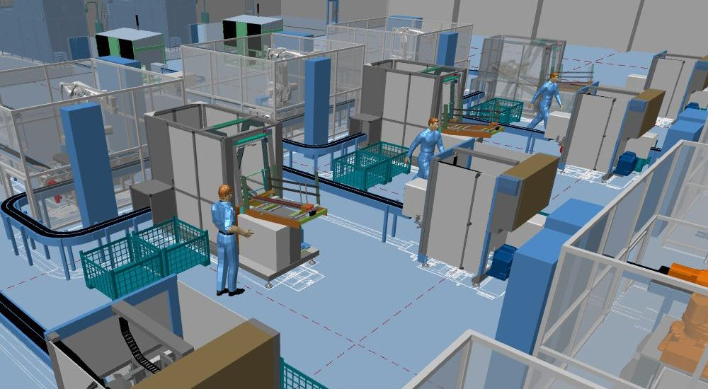 Software for 3d factory design and 2d layout mpds4 for Store layout design software