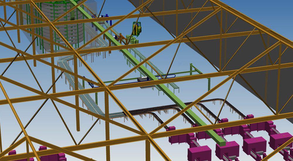 3d Steel Design Software For Plants Steel Design M4 Plant