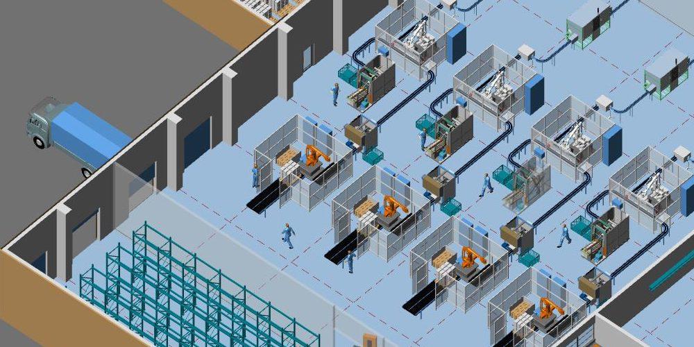 2D/3D building and layout design