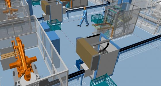 3D visualisation is also essential to maintain control of the design process