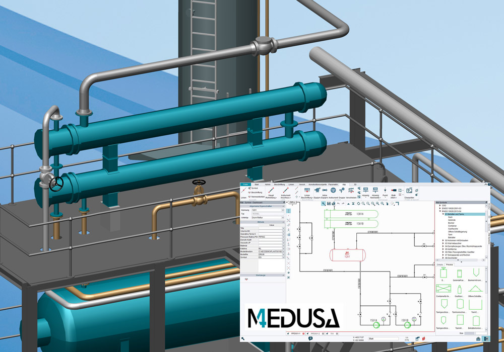 P&ID software for research and design of innovative process plants