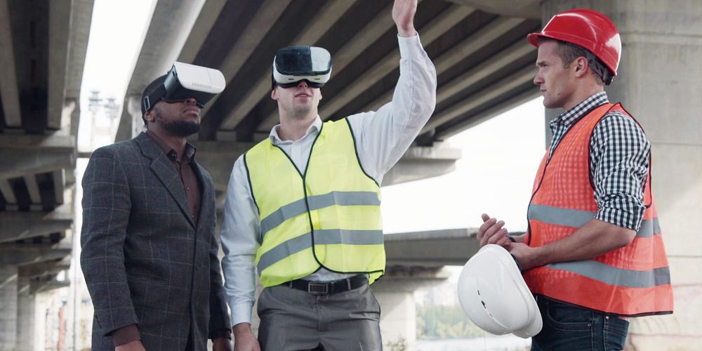 Virtual Reality on the construction site
