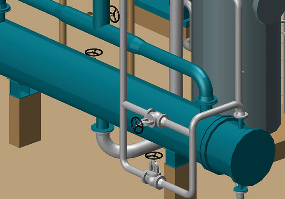 M4 PLANT enables rapid changes in 3D pipework
