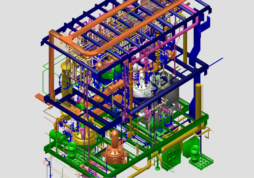 Plant engineers WSP CEL design 3D process plants with M4 PLANT