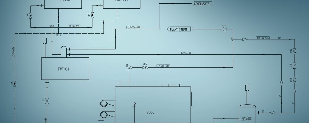 A P&ID is the basis for pipework design