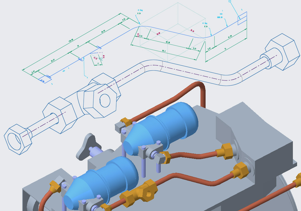 Create piping isometrics directly from Creo Piping