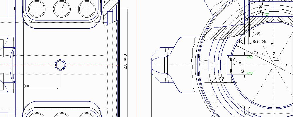 Edit DWG and DXF with M4 PERSONAL Version 7.0