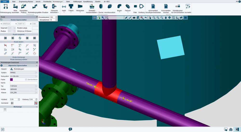 M4 PLANT - 3D Rohrleitungsbau