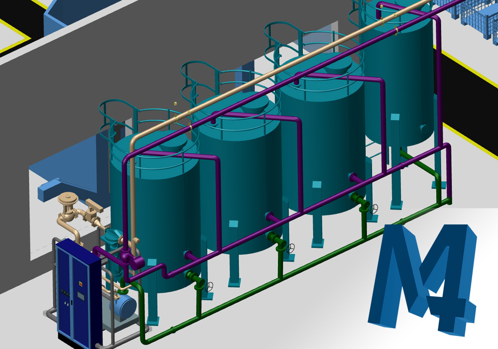 M4 PLANT: For professionals in factory and plant design
