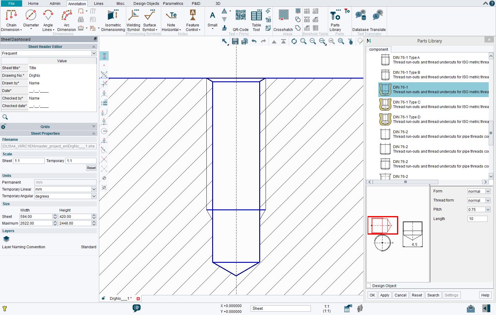 Standard CAD Parts Library – MEDParts
