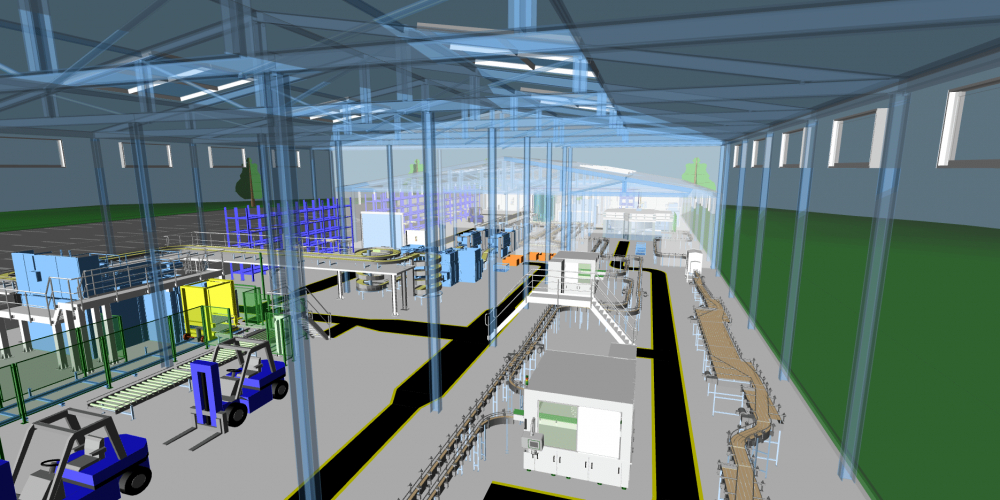 M4 FACTORY - Tolle Visualisierung der Daten in 3D